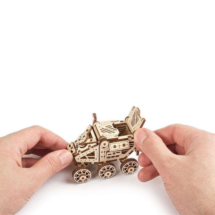 Puzzle 3D Mars Buggy din lemn Ugears 6