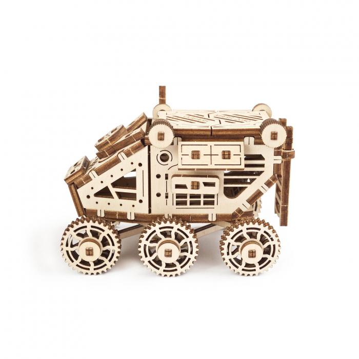 Puzzle 3D Mars Buggy din lemn Ugears 1