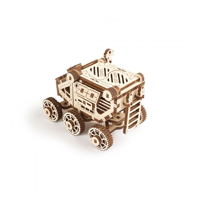 Puzzle 3D Mars Buggy din lemn Ugears 2
