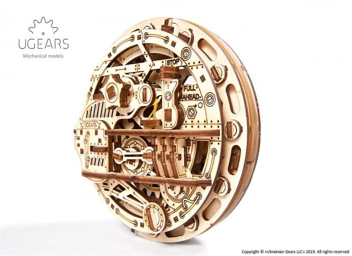 Puzzle 3D Monociclu Ugears 6