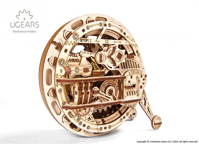 Puzzle 3D Monociclu Ugears 7