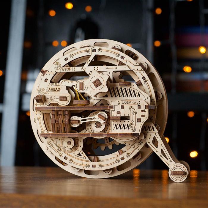 Puzzle 3D Monociclu Ugears [0]