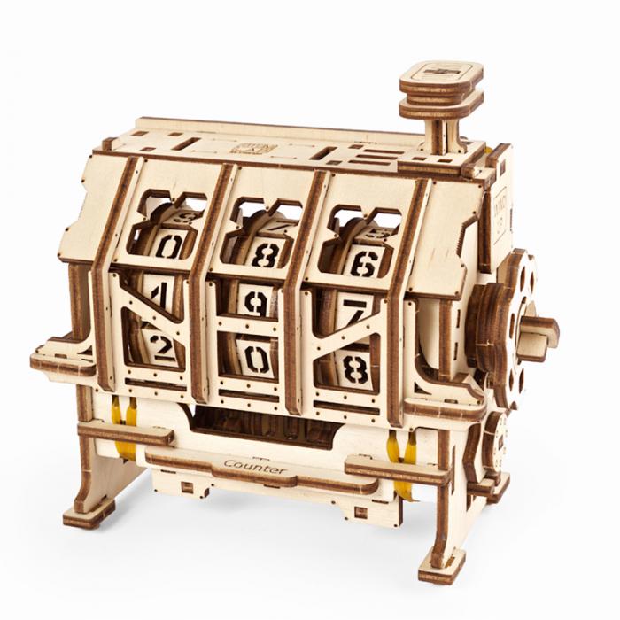 Puzzle 3D STEM Contor de parcurs din lemn Ugears 1