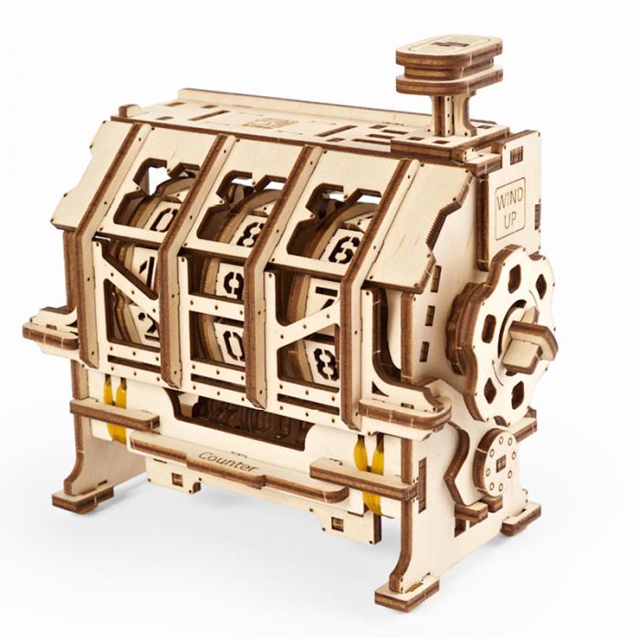 Puzzle 3D STEM Contor de parcurs din lemn Ugears 3