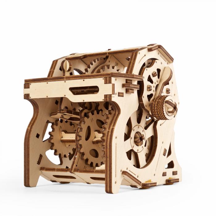 Puzzle 3D STEM Cutia de viteze din lemn Ugears 3