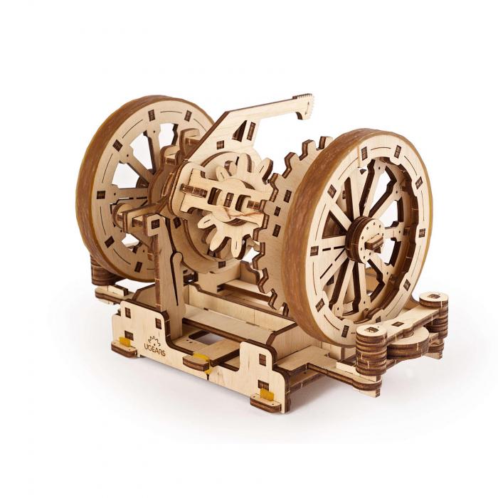 Puzzle 3D STEM Diferentialul din lemn Ugears 3