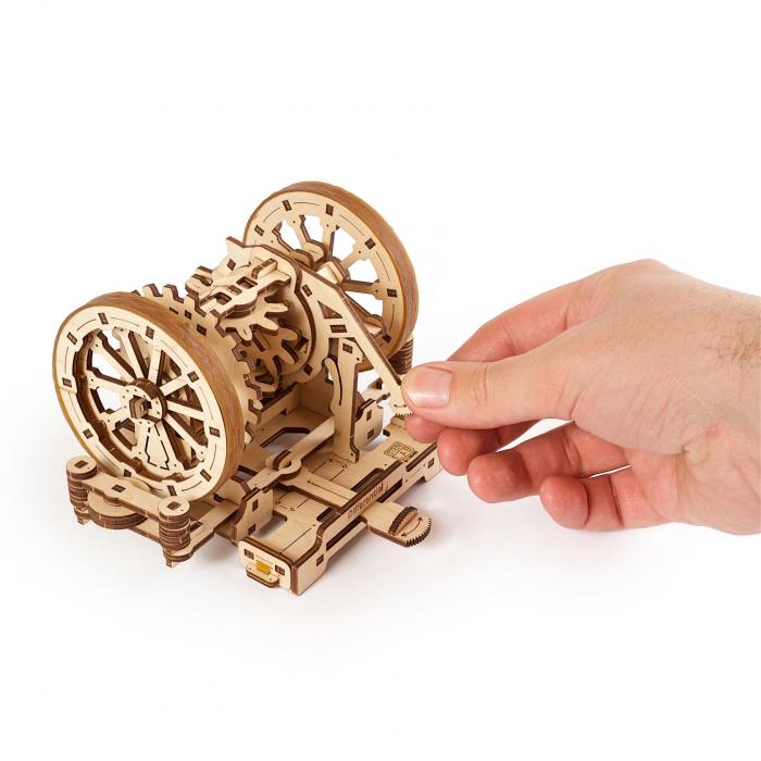 Puzzle 3D STEM Diferentialul din lemn Ugears 5
