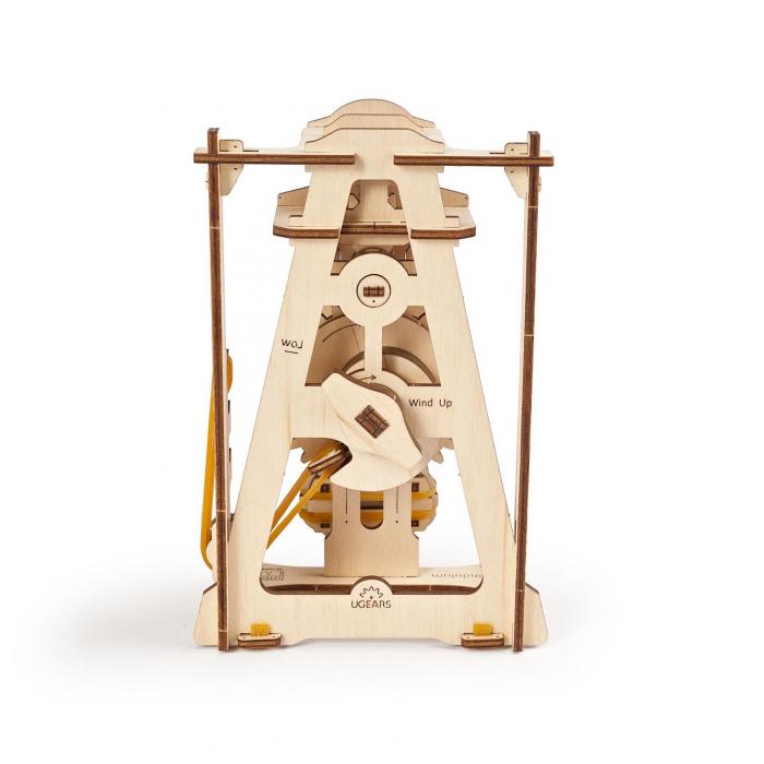 Puzzle 3D STEM Pendul din lemn Ugears 3