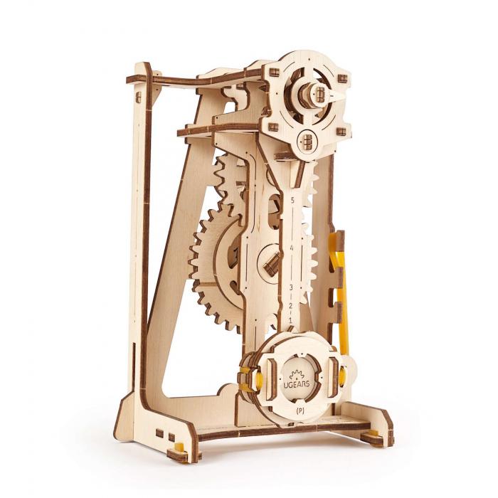 Puzzle 3D STEM Pendul din lemn Ugears 1