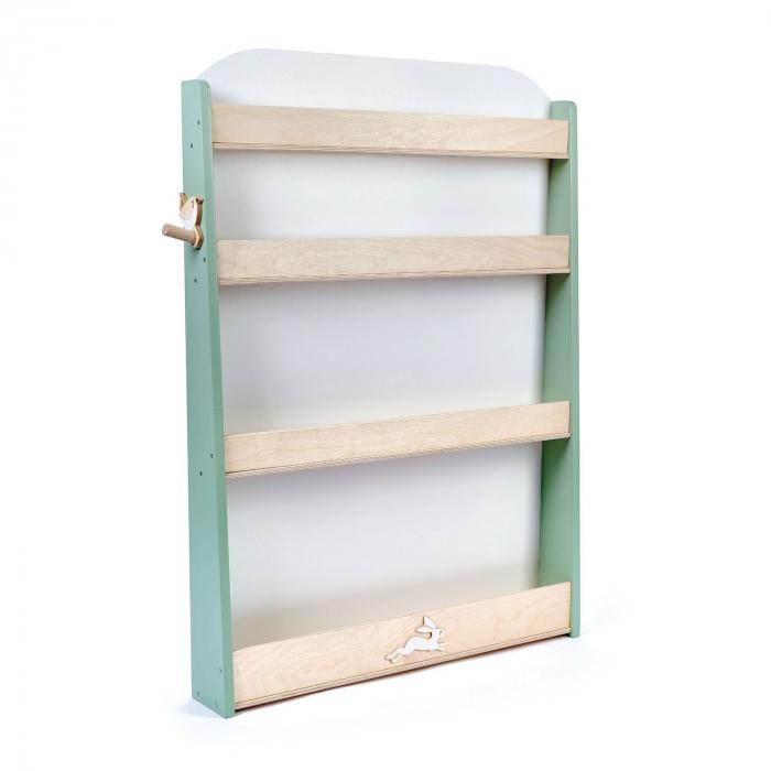 Raft pentru carti copii, din lemn premium 2