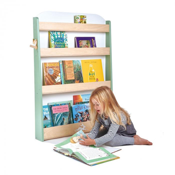 Raft pentru carti copii, din lemn premium 1