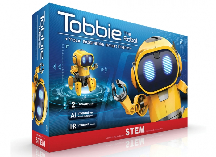 Robot interactiv Tobbie 9