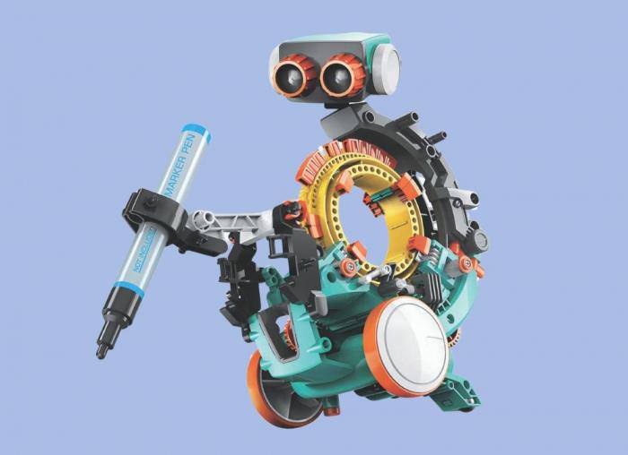 Robot mecanic programabil 5 in 1 0