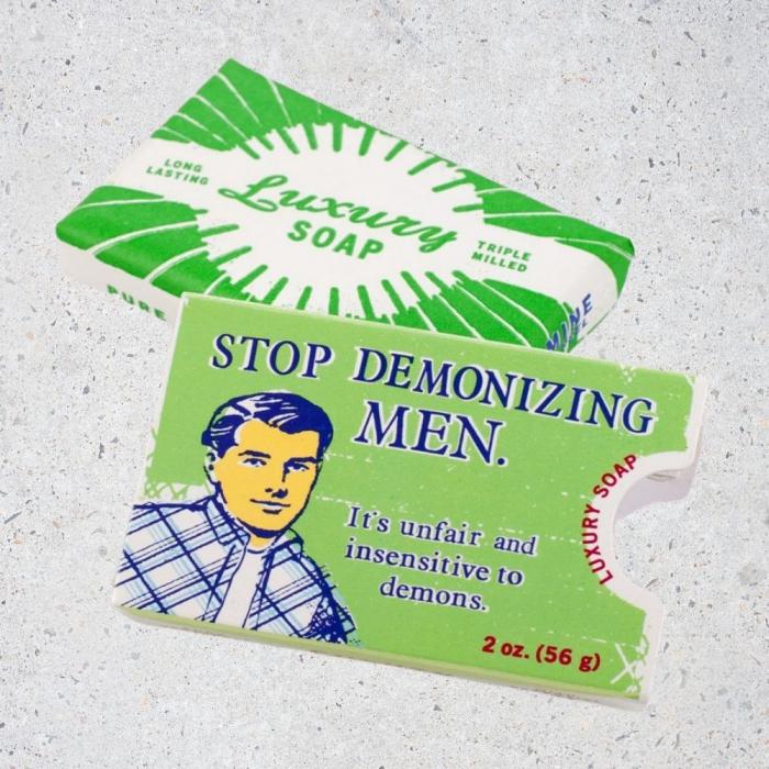 Sapun Stop Demonizing Men 0