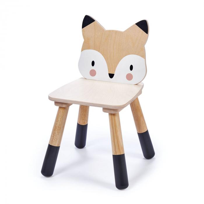 Scaunel din lemn pentru copii, Vulpita 2