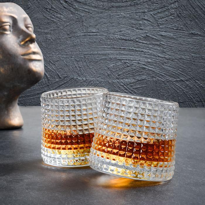 Set 2 Pahare whiskey, Deluxe Rotating Diamond [0]