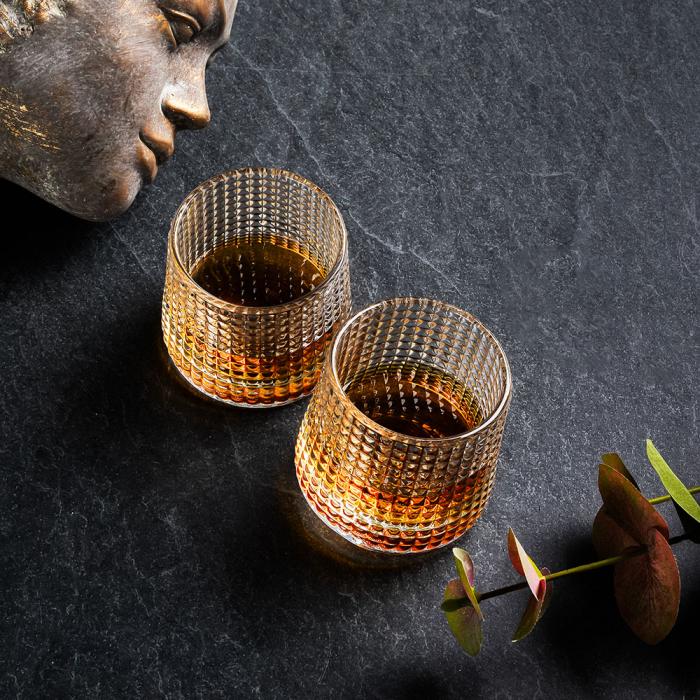 Set 2 Pahare whiskey, Deluxe Rotating Diamond [1]