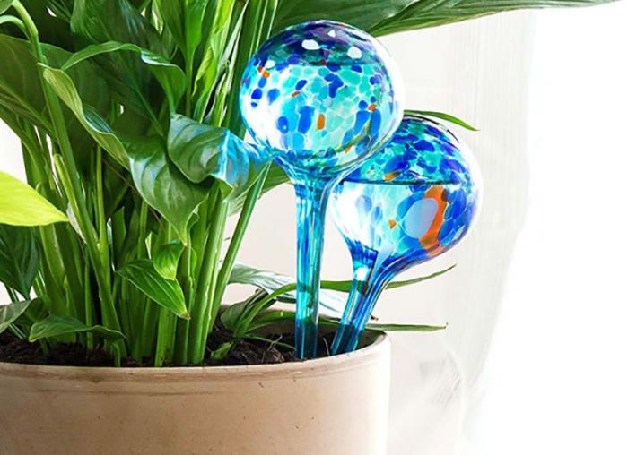 Set 2 Picuratoare Glob pentru ghivece cu flori 0