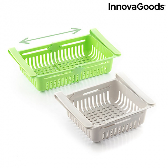 Set 2 Sertare organizatoare frigider FriCool 6