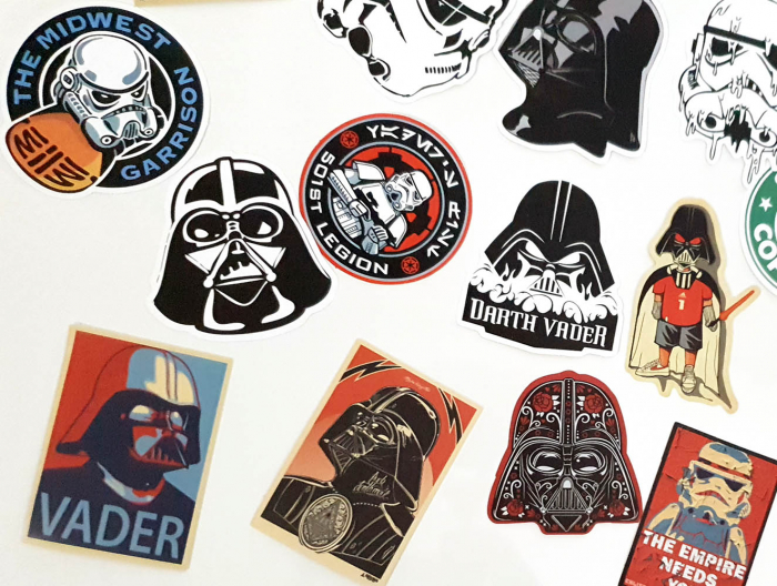 Set 25 stickere laptop Star Wars 3