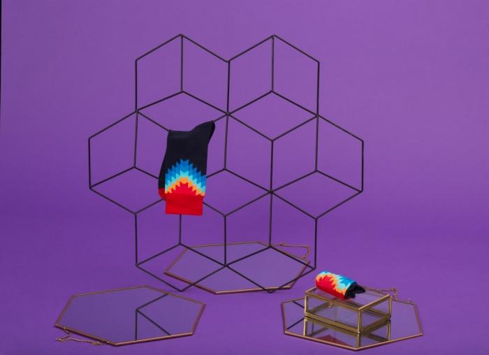 Set 5 perechi sosete colorate cu modele vesele 5