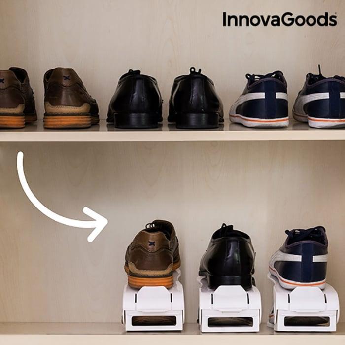 Set 6 bucati organizator pantofi reglabil 1