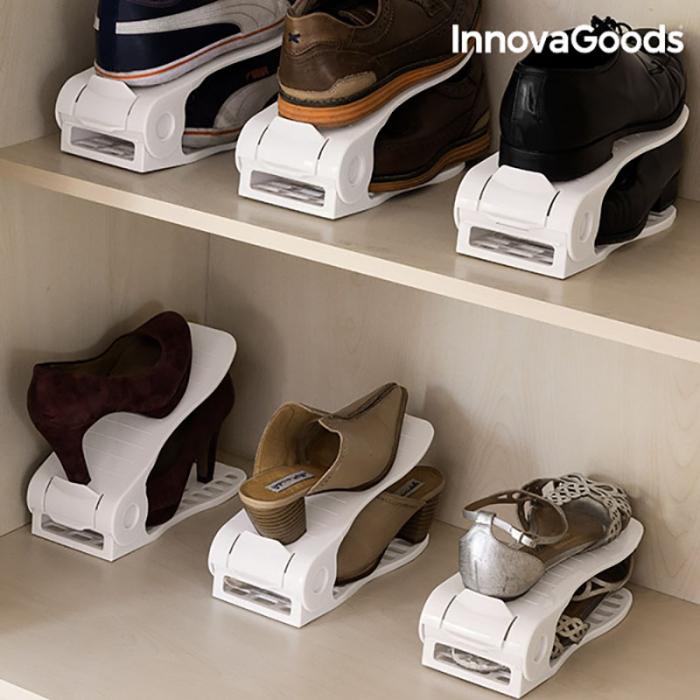 Set 6 bucati organizator pantofi reglabil 0
