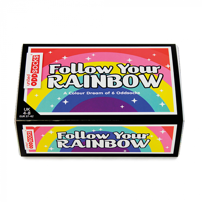 Set 6 sosete colorate Follow Your Rainbow 3