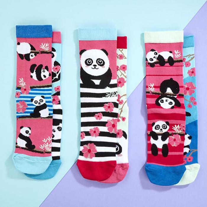 Set 6 sosete colorate Panda Bamboozle 1