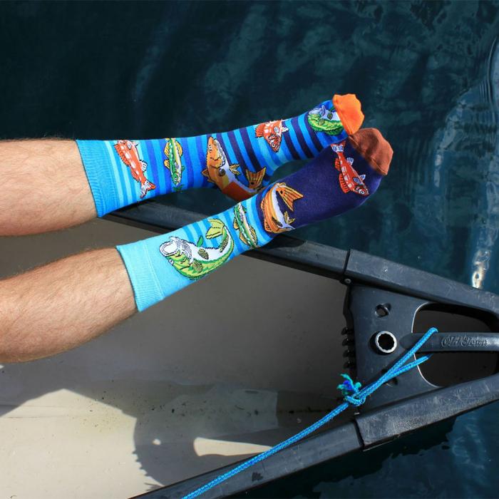 Set 6 sosete colorate pentru pescari 1