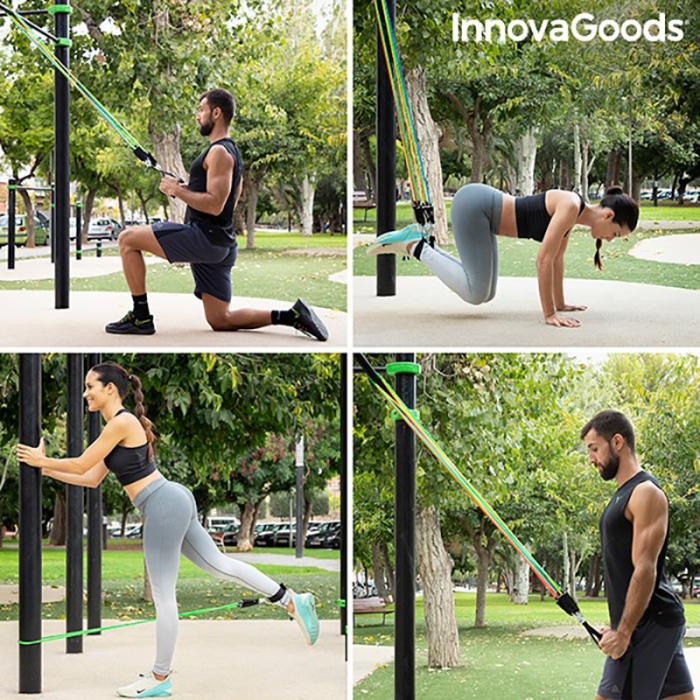 Set benzi de rezistenta cu ghid de antrenament [1]