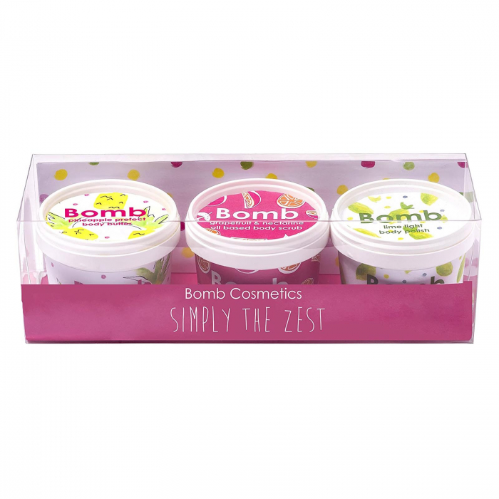 Set cadou 3 Unturi de corp Simply The Zest Bomb Cosmetics 5