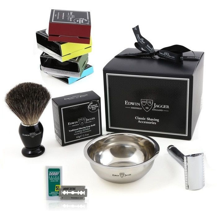 Set cadou barbati My first shaving kit, Edwin Jagger 3