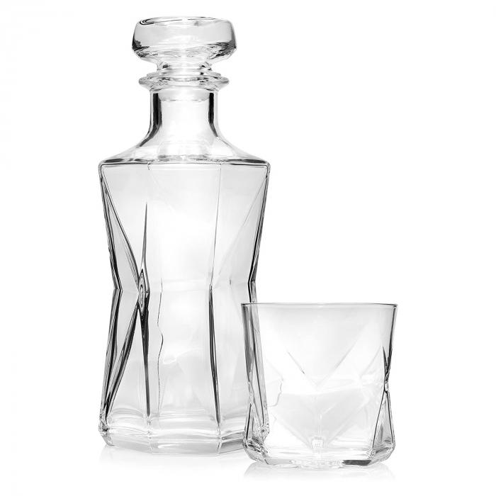 Set cadou decantor Sticla cu sase pahare Cassiopea [7]