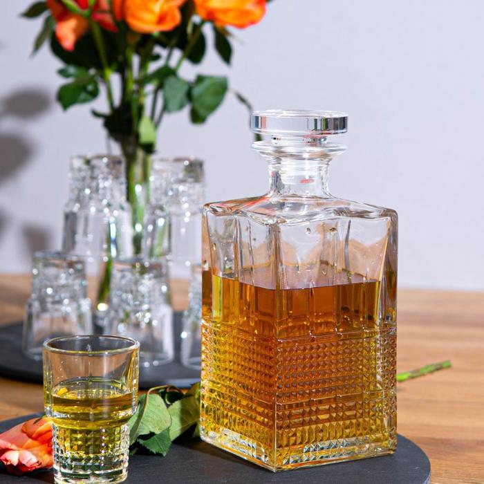 Set cadou decantor Sticla cu sase pahare Novec [1]