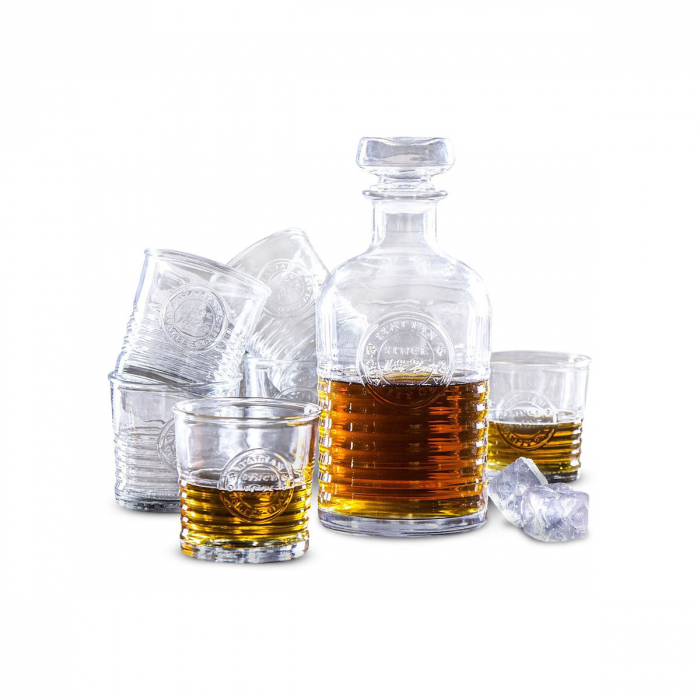 Set cadou decantor Sticla cu sase pahare Officina [2]