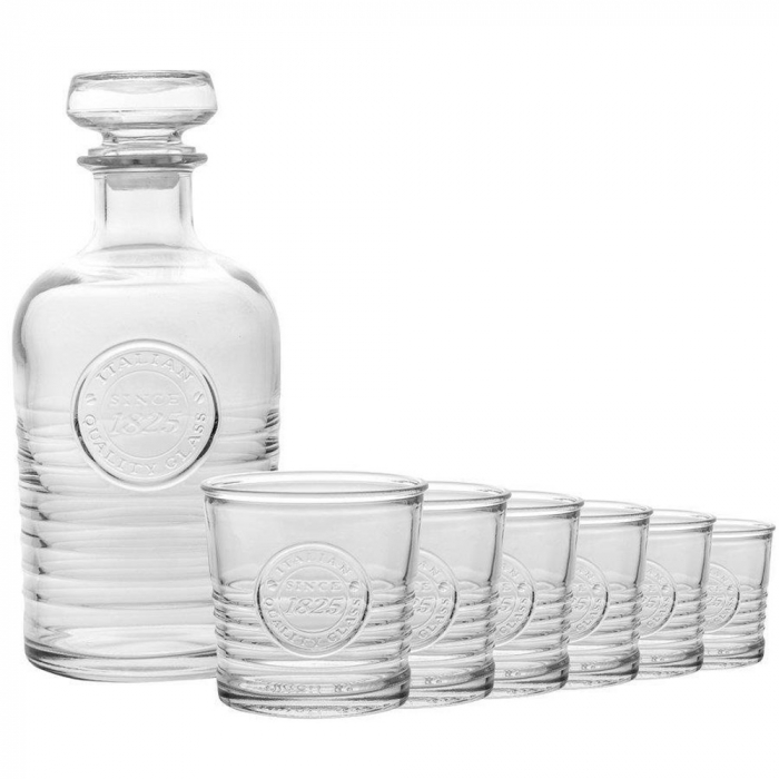 Set cadou decantor Sticla cu sase pahare Officina [4]