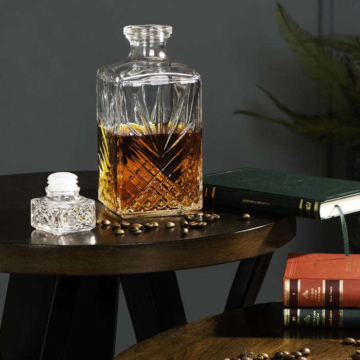 Set cadou decantor Sticla cu sase pahare Selecta [6]