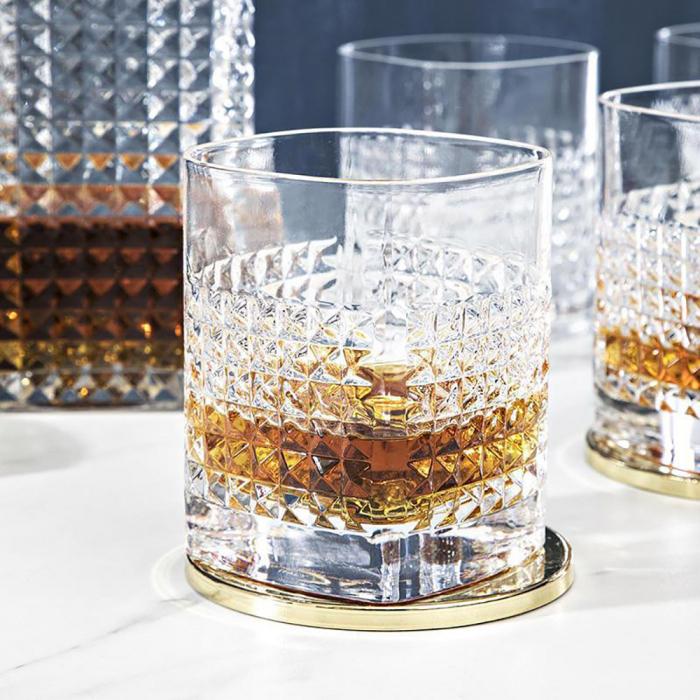 Set cadou decantor Whiskey Sticla cu 4 pahare Elixir [4]