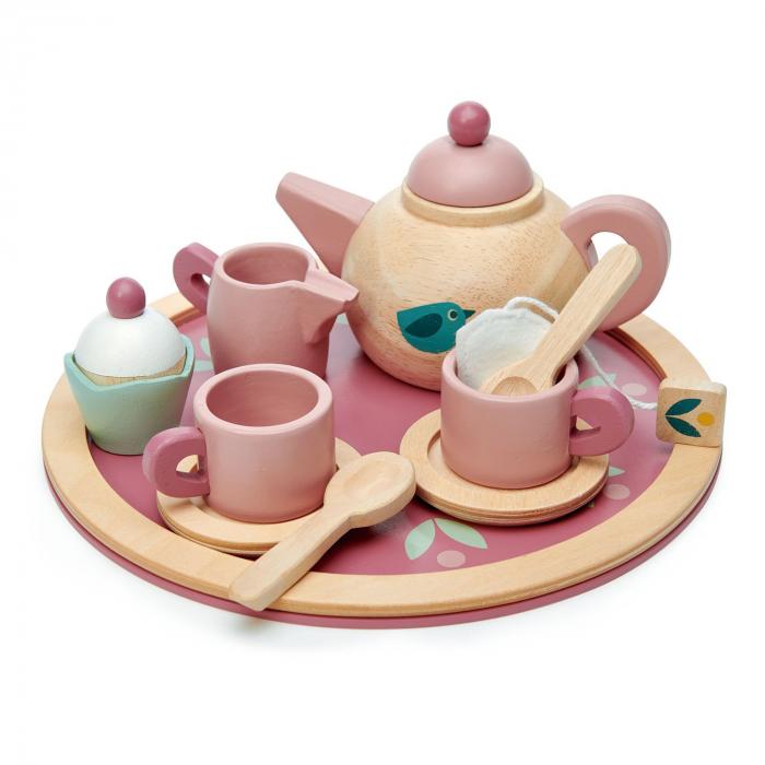 Set cadou jucarii din lemn Ceaiul de la ora 5, 8 piese 3