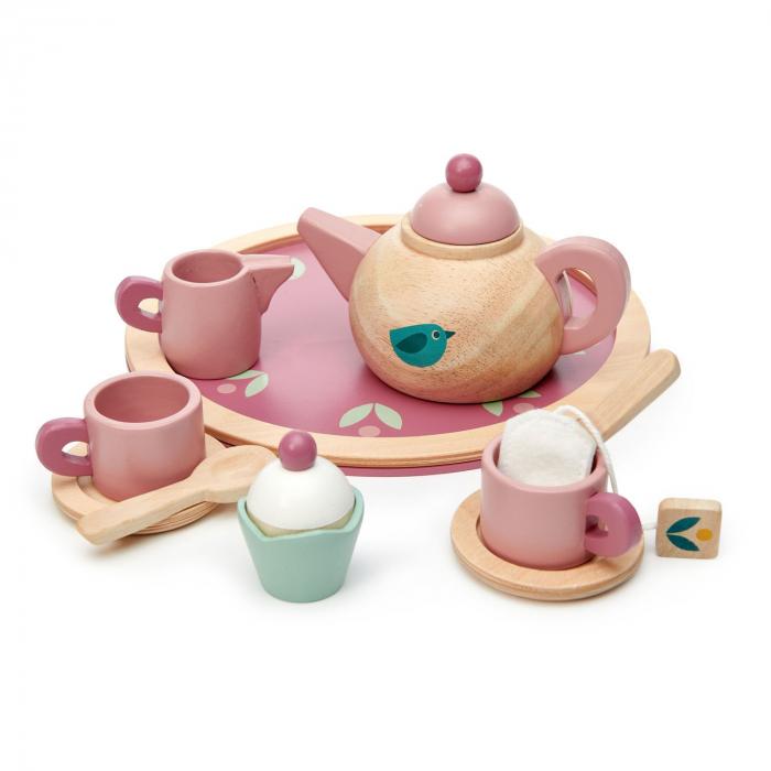 Set cadou jucarii din lemn Ceaiul de la ora 5, 8 piese 5