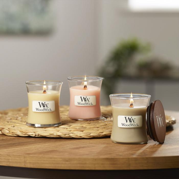 Set cadou lumanari parfumate WOODWICK Fireside 0