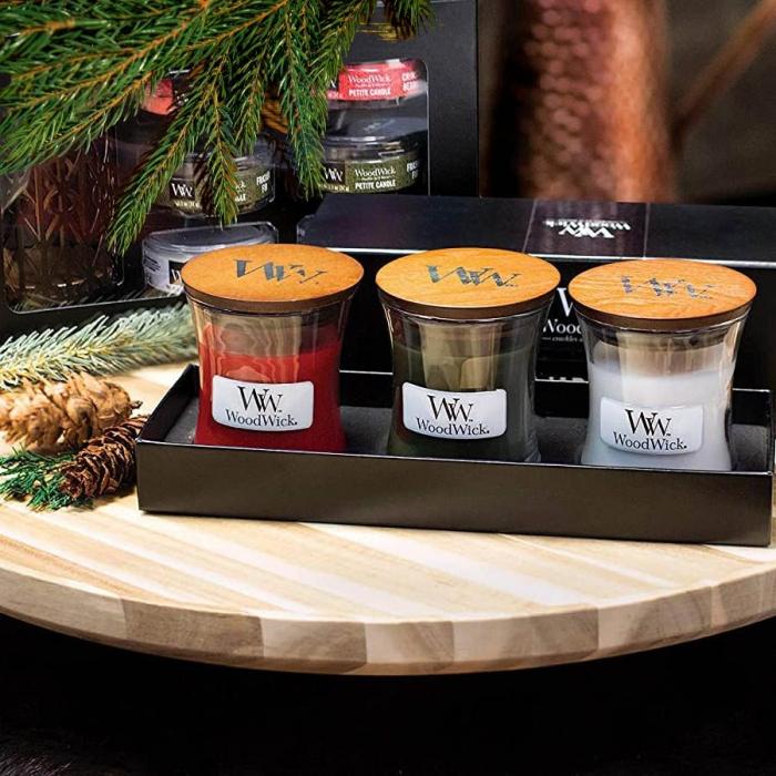 Set cadou lumanari parfumate WOODWICK Woodland 0