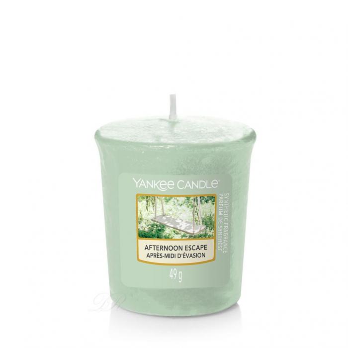 Set cadou lumanari parfumate Yankee 3 VOTIVE GARDEN HIDEAWAY PURSE 4
