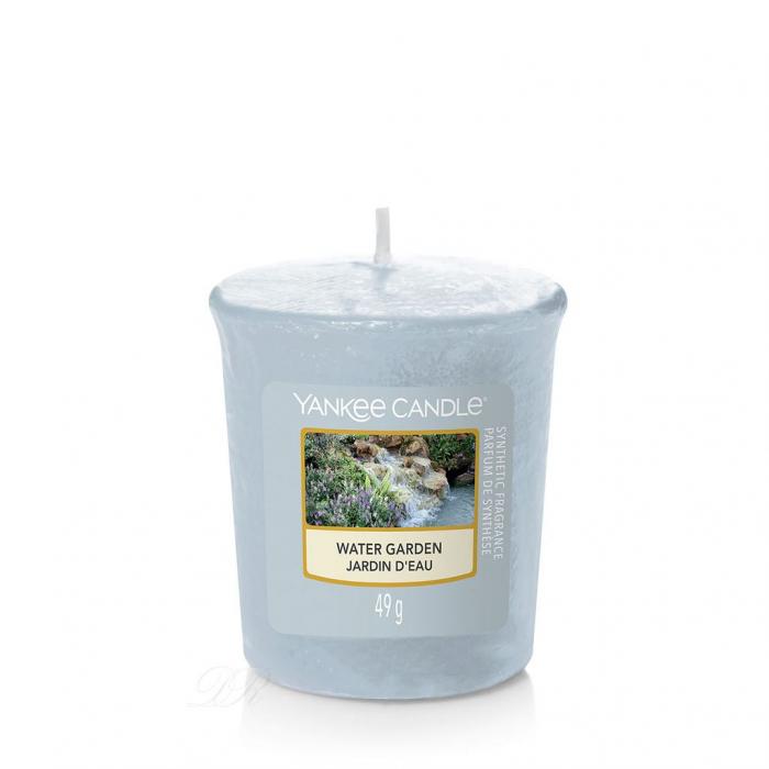 Set cadou lumanari parfumate Yankee 3 VOTIVE GARDEN HIDEAWAY PURSE 6