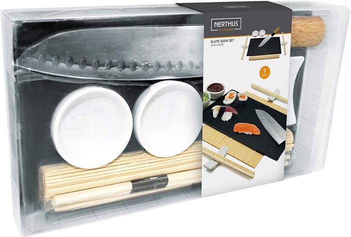 Set cadou platou cu accesorii pentru sushi Expert [3]