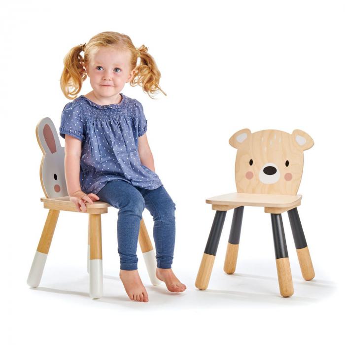 Set din lemn Masuta copii cu doua scaunele 3