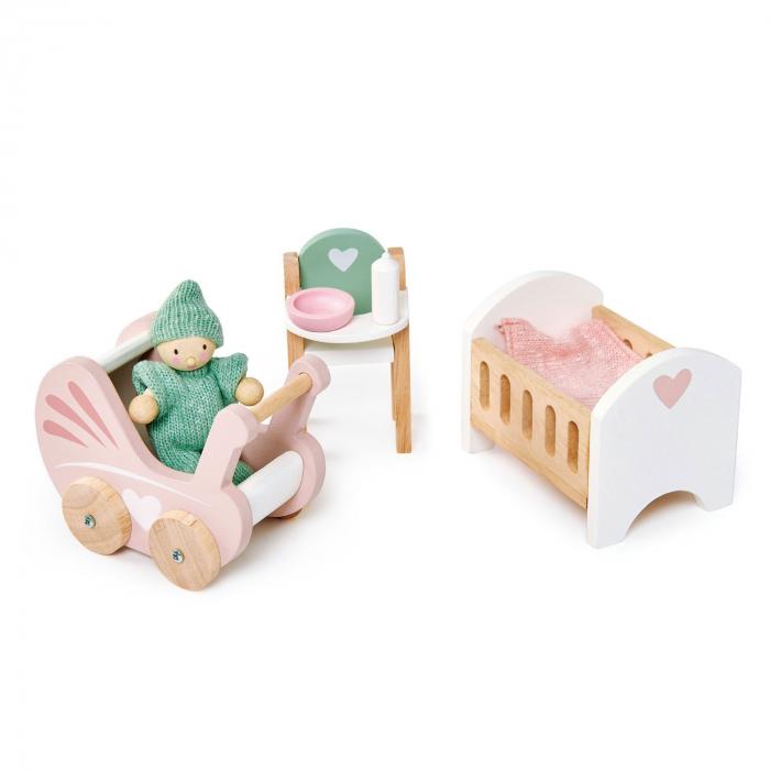 Set jucarii din lemn Mobilier Camera bebelusilor 3