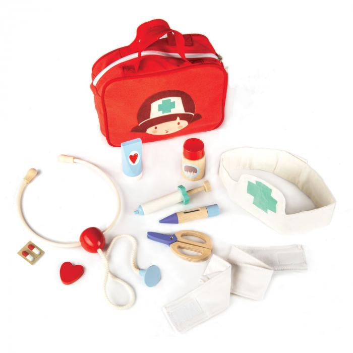 Set jucarii Gentuta cu 12 instrumente medicale 2