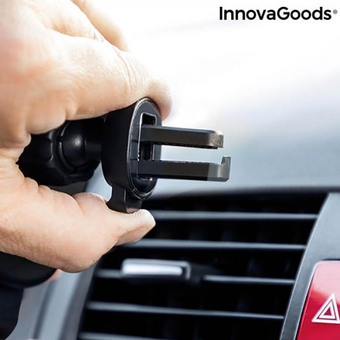 Suport telefon auto cu incarcator wireless Smarty Holder 3